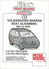 VW SHARAN SEAT ALHAMBRA CAR MANUAL 1.9 TDI 2.8 VR6 4WD 2001 - 2006