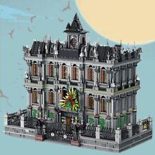 Super Heroes Batman Arkham Asylum Lunatic Hospital Building Blocks Set Brick Kit