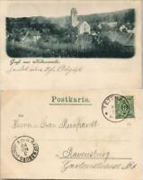 Ansichtskarte Hiltensweiler-Tettnang Partie an der Stadt 1899