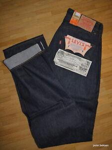 Levi`s LVC Vintage 501 Big E Shrink to Fit Selvedge Denim Größe W 30 /L 40