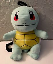 """NWT NINTENDO POKEMON Squirtle PLUSH BACKPACK 16"""" Tall"""