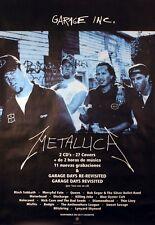 METALLICA 1998 GARAGE INC. RARE MEXICAN PROMO POSTER ORIGINAL
