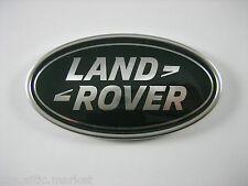 Range Rover / Sport Tailgate Emblem Green and Silver Land Rover Oval Logo Badge