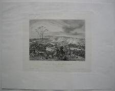 Pozzolo Formigaro Piemont Italia Napoleon Italienischer Feldzug Stahlstich 1837