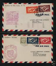 Portugal  flight covers