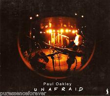 PAUL OAKLEY - Unafraid: Live And Acoustic (UK 16 Tk CD Album)