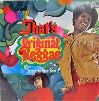 Various - That' s Reggae  Jamaican Blue Beat (LP, Vinyl EX) Original Album rare