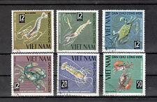 Vietnam MIchelnummer 387 - 392 gestempelt (Übersee:512 )