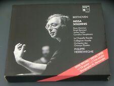Beethoven Missa Solemnis Philippe Herreweghe Harmonia Mundi & Sampler CD