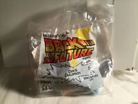 Back to the Future McDonalds Happy Meal Toy - Doc's DeLorean Factory Sealed