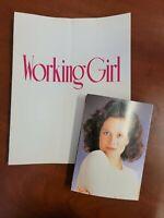 Working Girl Original 1988 World Premiere Program Bundle