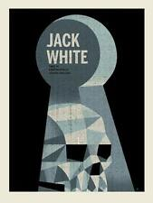 Jack White London England 2014 Poster Screen Print Methane Stripes Signed #d/270