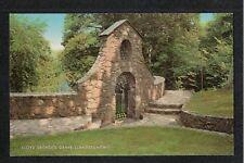 Llanystumdwy Prime Minister David Lloyd George Grave J Salmon Postcard  QUALITY