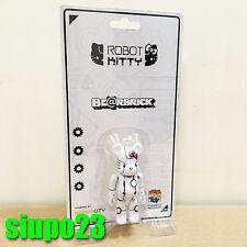 Medicom 100% Bearbrick ~ Action City x Hello Kitty Be@rbrick Robot Kitty White