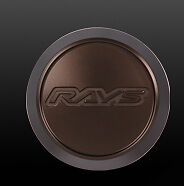 RAYS VOLK RACING ZE40 CENTER CAP High Type Bronze X 4ZE40-BR-HIGH
