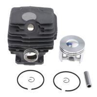 2 Set Fit for STIHL MS028 038 OIL PUMP GASKET with Muffler /& Gasket Kit