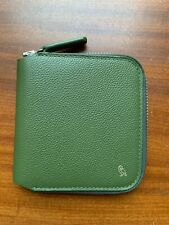 Bellroy Zip Wallet Designers Edition Grain Leather Zipper Wallet XZWA Forest
