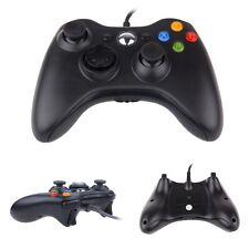 XBox360 Controller - Schwarz - USB Joypad mit Kabel - Microsoft XBox 360 DE
