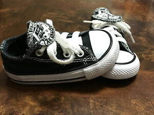 CONVERSE ALL STAR Shoes Unisex's TODDLER Black Color ,size 5(12.5cm)
