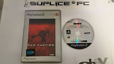 PS2 - Red Faction    ( SANS  Notice)