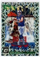 JOSH ALLEN 2018 Panini Donruss Optic DOWNTOWN Rookie Card RC SP #DT-14 Bills