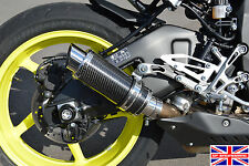 Yamaha MT-10 SP Engineering Carbon Fibre Moto GP Xtreme Exhaust End Can Silencer