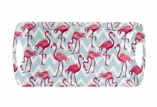 Leonardo Collection Flamingo Bay Large Pink Sandwich Tray