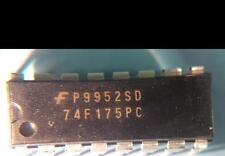 LOT OF ( 100 ) NEW FAIRCHILD 74F175PC QUAD D-TYPE FLIP FLOP