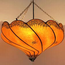 "Lámpara Oriental Henna de techo MARRUECOS luces Colgantes"" Golla ""Naranja"