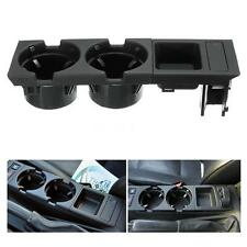 2IN1 Car Center Console Cup Coin Holder Tray for BMW 3Series E46 1998-2004 R9V9