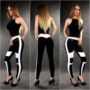 Stretch Jeans Treggings ZAZOU Damenjeans XS S M L XL Skinny Sommer Hose 3392