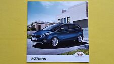 Kia Carens MPV 1 2 3 4 car brochure catalogue & price list December 2016 MINT