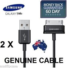 2x Genuine Samsung Galaxy Tab 2 P3100 P3110 Tablet USB Data Charger Cable