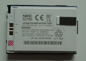 Genuine NEC MAS-BD0026-A001 Battery for E338 Made in Japan