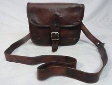 "9x7"" Vintage Leather CrossBody Messenger Bag Handbag Satchel Tab/iPad Unisex Bag"