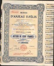 Mines d'ANJEAU St FELIX (GARD 30) (Q)
