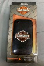 HARLEY DAVIDSON IPHONE 3G & 3GS RUBBER CELL PHONE CASE NEW IN BOX