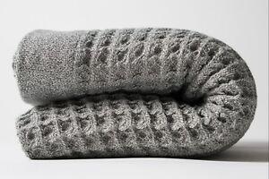 Nutrl Home | Waffle Weave Bath Towel Set | Antimicrobial, 100% Supima Cotton