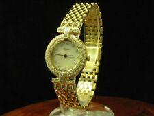 Chopard 18kt 750 Gold Damenuhr mit Brillant Besatz / Ref 10/5896-20