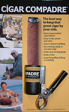 CIGAR COMPADRE HOLDER CLIP, golf, fishing, lounging