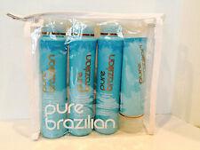 PURE BRAZILIAN SHAMPOO, CONDITIONER, SERUM & DEEP MASQUE  HOME TRAVEL KIT