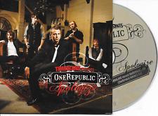 TIMBALAND ft ONEREPUBLIC - Apologise Cd SINGLE 2TR EU Cardsleeve 2007
