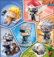 6Pcs/Set 5CM Lovely Naruto Child Anime Action Figure Model In PVC doll toy