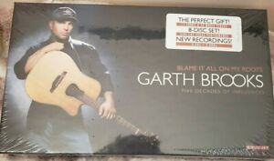 GARTH BROOKS Blame It All On My Roots 8 Disc Long Box Set CD-FACTORY SEALED
