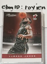 2012-13 Panini Prestige card #79 LeBron James MVP Miami Heat Finals Champions