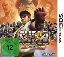 Nintendo 3ds SUPER STREET FIGHTER 4 IV 3d Edition STREETFIGHTER NUOVO