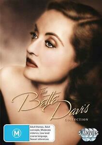 The Bette Davis Collection (DVD, 2012, 5-Disc Set), NEW SEALED REGION 4