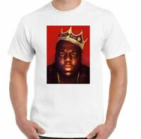 Biggie Smalls T-Shirt The Notorious Big Mens Hip-Hop Tupac 2Pac Rap Top Music