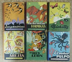 Biblioteca de la Infancia.Completa.6 Libros.Dalmau Editores