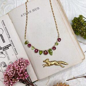 Multigem 14K Gold Filled Handmade Sundance Garden Necklace